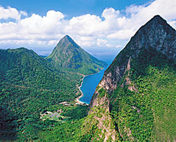 Jalousie in the Valle des Pitons